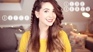 How To: Super Easy Dutch Side Braid | Zoella ad