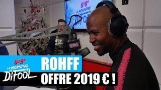 Rohff offre 2019€ à un auditeur ! #MorningDeDifool