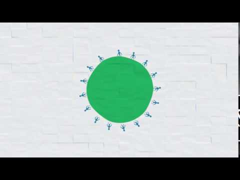 Logo and Video Animation color splash animation