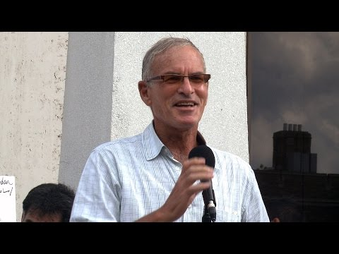 "(2014) ""Norman Finkelstein Israel Mowing the Lawn in Gaza"""