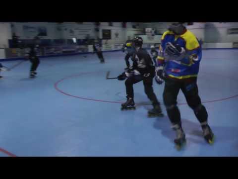 Bullets v Grizzles U16 BIPHA Nationals 24 6 2017 Roller Hockey