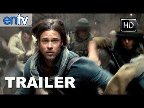 World War Z (2013) - Official Trailer #1 [HD]: Brad Pitt Vs The Zombie Apocalypse