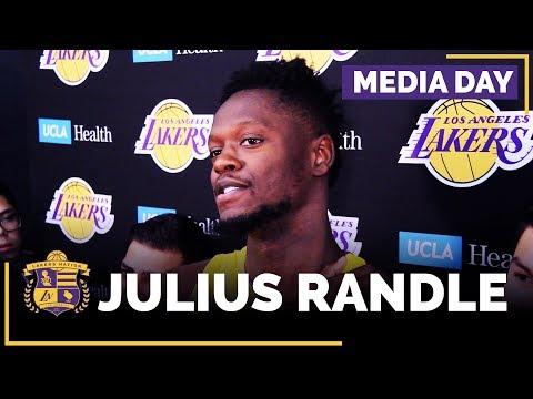 Video: Lakers Media Day: Julius Randle (FULL INTERVIEW)