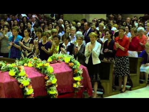 29 de septiembre: traslado de las reliquias del beato Álvaro