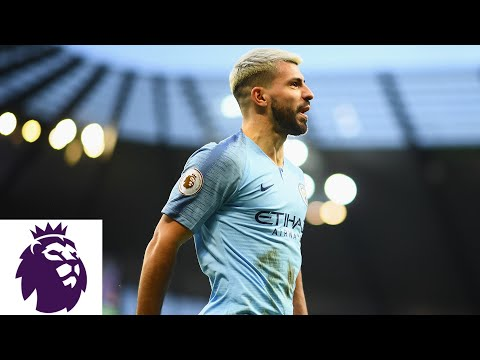Video: Premier League Milestone: Sergio Aguero's record tying 11th hat-trick for Man City | NBC Sports