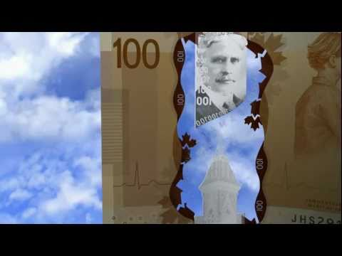 Bank of Canada: The New $100 Note      - YouTube