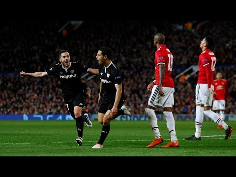 Manchester United 1 Sevilla 2 | Narración COPE | Champions League 2017/18