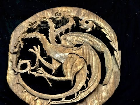 Here is the 3000 photo time lapse of the hand carved dragon I will eventually inset into the back of a chair.