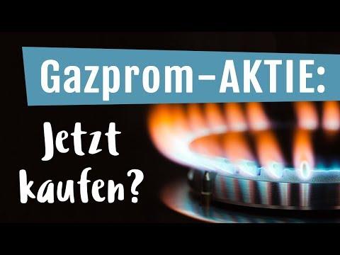 Gazprom-AKTIE: Jetzt KAUFEN?