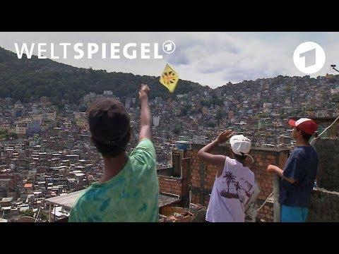 Rio de Janeiro: Drachenkampf mit scharfer Leine | W ...