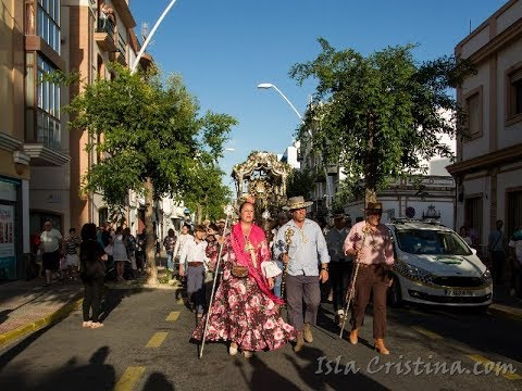 Llegada de la Hermandad del Rocío de Isla Cristina