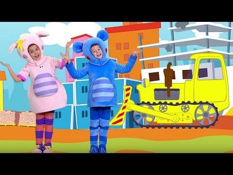Песенки для детей - Кукутики - Сборник 2 из пяти песенок мультик про машинки (видео)