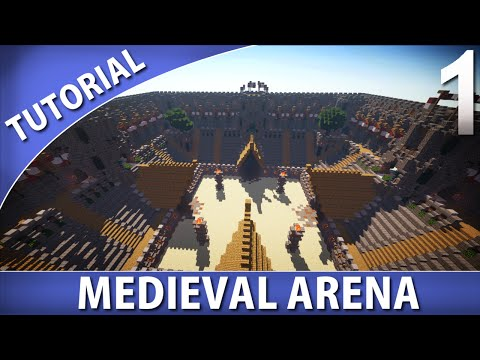 Minecraft Tutorials – Medieval Arena [Part 1/9]