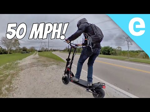 Review: 50 MPH Wolf Warrior from Fluidfreeride!