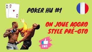 Poker Cashgame Coaching Video : NLHE 400€ Heads Up Partie 1/3 En Français
