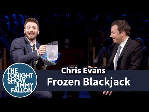 Chris Evans Brings 'Frozen Blackjack' To 'The Tonight Show'