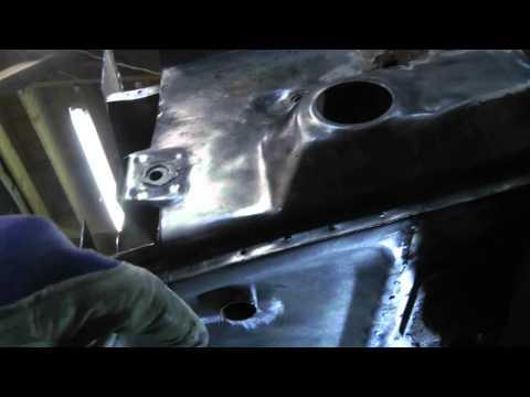 1973 Porsche 914   R Front panel repair Part 4