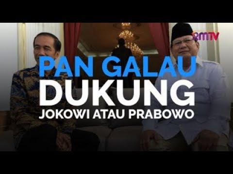 PAN Galau, Dukung Jokowi Atau Prabowo
