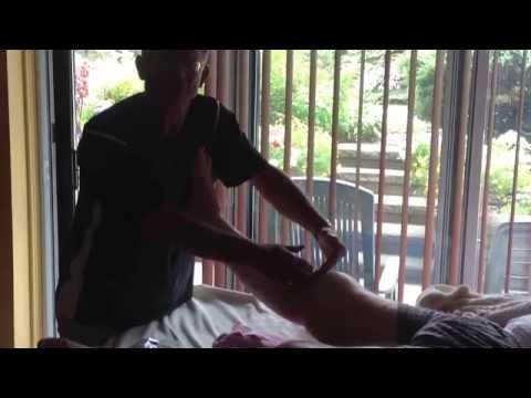 comment traiter oedeme cheville