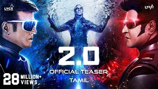 Video 2.0 - Official Teaser [Tamil] | Rajinikanth | Akshay Kumar | A R Rahman | Shankar | Subaskaran MP3, 3GP, MP4, WEBM, AVI, FLV September 2018