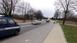 Nożownik kontra gość z pistoletem na środku ulicy – Gorzów Wielkopolski