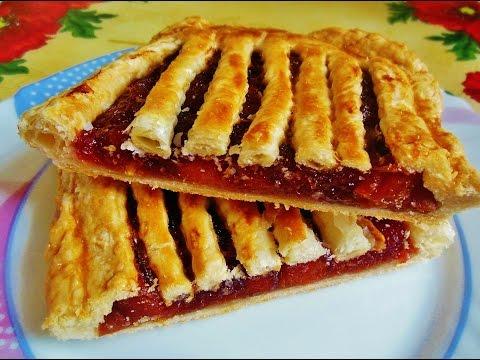 Сладкие пироги из готового теста рецепты с