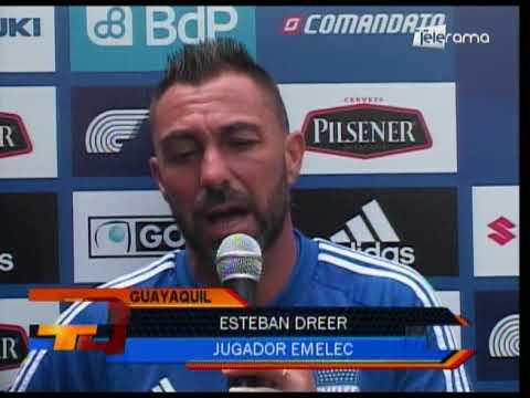 Emelec regresó a las prácticas con miras a juego ante Macará