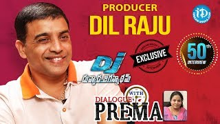 DJ Producer Dil Raju Exclusive Interview || Dialogue With Prema