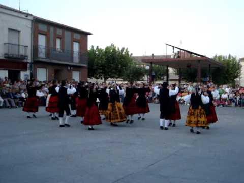 Bailes Regionales en Montemayor de Pililla (Valladolid)