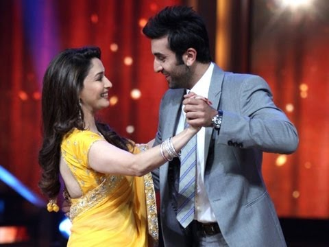ranbir - For more Bollywood updates join page in facebook https://www.facebook.com/rkbollywood Rabir Kapoor's childhood love is Madhuri Dixit. Ranbir, Madhuri and Pri...