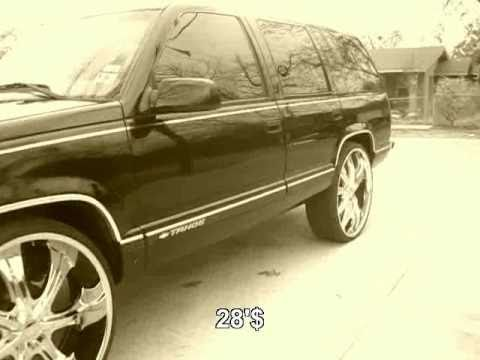 Coupe Deville On 26's & Tahoe On 28's