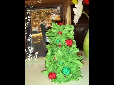 DIY mini Christmas tree decorations!!☃