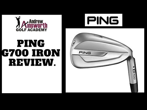 Ping G 700 Iron Review with Andrew Ainsworth