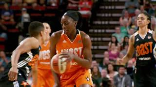 Best of Phantom: West Defeats East in Verizon WNBA All-Star 2017 Get Your WNBA Tickets Here!: http://www.wnba.com/tickets/