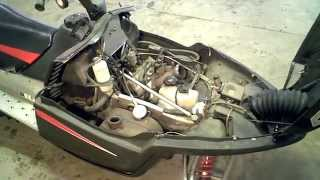 2. LOT 866A 2005 Arctic Cat M7 EFI Engine Compression Test