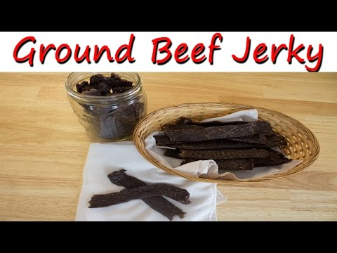 Homemade Ground Beef Jerky Recipe