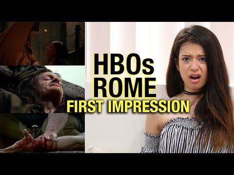 "Girl Watches 'rome' For The First Time Ever | Season 1 Episode 1 ""the Stolen Eagle"" Reaction"