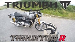3. Triumph Thruxton R 1200 2016 - First Ride Review - The factory king of cool
