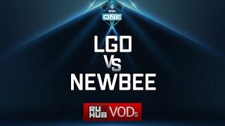 LGD vs NewBee, ESL One Genting Quals, game 2 [LightOfHeaveN, Adekvat]
