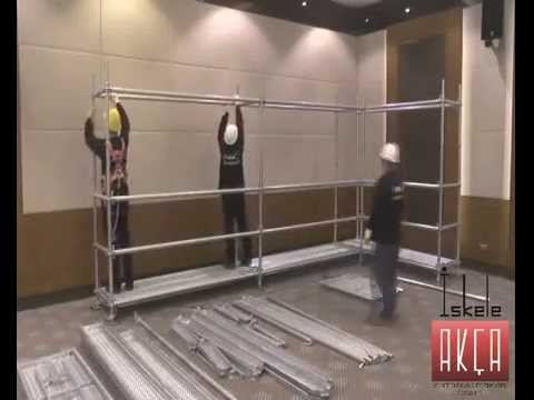 AKCA Scaffolding Installation video