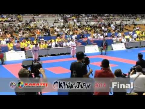 Karate1 Okinawa - Female Kata FINAL - Kajikawa Vs. Shimizu