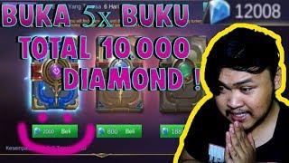 Video BUKA BUKU SKIN GIFTPACK 5 X 10000 DIAMOND !! PALING HOKI? MP3, 3GP, MP4, WEBM, AVI, FLV September 2018
