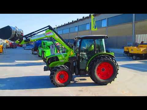 FOR SALE IN ITALY - Tractor Claas Elios 230 with STOOL shovel.-Year 2013 -  212 hours