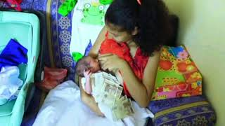 Nonton Happy Young Mother Is Feeding Her Baby   A Newborn Baby   Mom And Baby Tutorial Videos  263 Film Subtitle Indonesia Streaming Movie Download