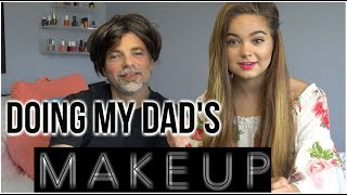 "Here is a video of turning my dad into a very beautiful girl! I hope you enjoy my dad getting his makeup done!Subscribe so you don't miss another one of Chelsea's videos at http://www.youtube.com/user/beautyliciousinsider?sub_confirmation=1PRE ORDER MY BOOK ""Your Own Beautiful"" NOW!Amazon: http://amzn.to/2nNV7uYBarnes & Noble: http://bit.ly/2ni4zchBooks-A-Million: http://bit.ly/2moGamdChristianBook.com: http://bit.ly/2nGgEZIGoogle: http://bit.ly/2mLAoGpiBooks: http://apple.co/2nidmuOTarget: http://bit.ly/2nhZnVWWebsite: www.chelseacrockett.comYouTube: www.youtube.com/beautyliciousinsiderInstagram: http://instagram.com/chelseakaycrockettFacebook:https://www.facebook.com/ChelseaKCrockettTwitter: https://twitter.com/ChelseaCrockettGoogle +: https://plus.google.com/u/0/+BeautyLiciousInsider/postsPintrest: http://www.pinterest.com/liciousinsider/PLAYLISTSHair tutorials for short, medium, and long hair!https://www.youtube.com/playlist?list=PLD9815B8CD82F1DA8Buzzfeed videos! Trying my favorite Buzzfeed recipes and DIY life hacks!https://www.youtube.com/playlist?list=PLb4fP1nCr2FrWViROJS6Sn8bu4cJFh5c0Buy and Try Beautyliciousinsider!  This is my own series I created and produce myself!https://www.youtube.com/playlist?list=PL32314C6EA697A318Periods 101 for girls! #periodtalkhttps://www.youtube.com/playlist?list=PLb4fP1nCr2FrRcuupJPl8PkQsC4rlgjrmChristian teen advice! Relationships, friends, my testimony, morals, and much more!https://www.youtube.com/playlist?list=PLb4fP1nCr2FoFkQA_oBFKDLK1MtiZS-VeMakeup tutorials for beginners, experts, and everyone in-between.  Experience the power of makeup!https://www.youtube.com/playlist?list=PLF43D1AAB06AE5ECBDIY projects for teenagers!https://www.youtube.com/playlist?list=PLb4fP1nCr2FpedYsgPq3WlhNGkKPVvwSwAll things routine! Morning routine, night routine, routine for school, and much more!https://www.youtube.com/playlist?list=PL64C9CC0AB1E5E3BECollab channel with a few of my favorite YouTubers!https://www.youtube.com/playlist?list=PLb4fP1nCr2FpGoFzwlIIm5ZU2xXeMRMi8Meet my brother Chandler Crockett!https://www.youtube.com/playlist?list=PLb4fP1nCr2FrGCzvK_ompK69dYkZvYkCtBUSINESS ONLY EMAIL - beautyliciousinsider@gmail.comGo visit our family YouTube Channel - Toy Starhttps://www.youtube.com/channel/UCF5ehGiQ69cnsgCvDkv7HGASEND ME MAIL:Chelsea Crockett17 Junction Dr.Suite 200Glen Carbon, IL 62034FTC: Not a sponsored video!"
