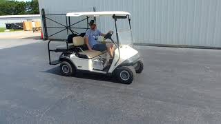 6. EZ-Go Freedom Golf Cart w/Charger - Tag #123281