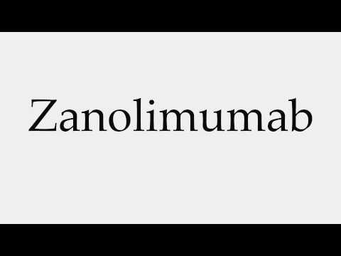 How to Pronounce Zanolimumab