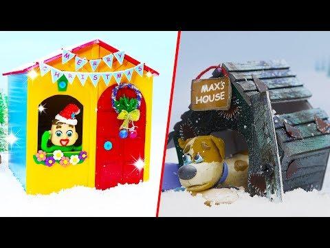 SUPERHERO BABY COLORS DOG PLAYHOUSE  Play Doh Cartoons For Kids