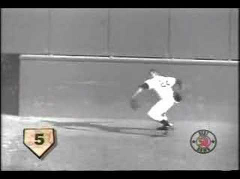 willie mays - Willie Mays Incredible catch !