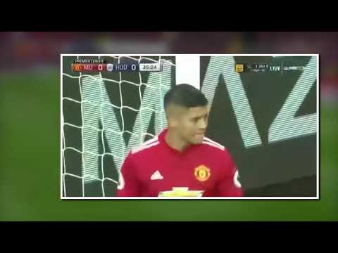 Manchester United - Huddersfield Town - All Goals and Highlights - Premier League Day 26 - 4/02/2017